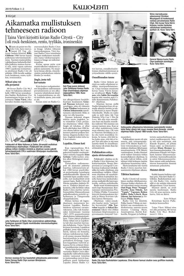 80-luvun Radio City 96,2